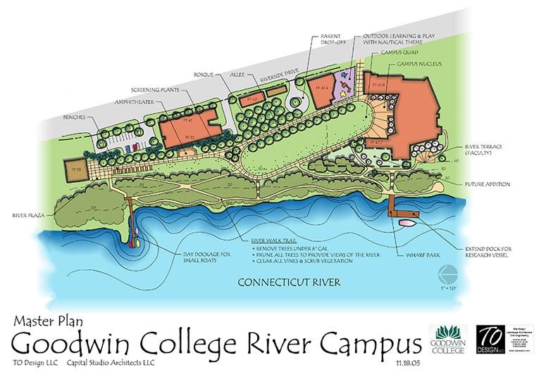 Hartford Hospital Campus Map.Goodwin College To Design Llc