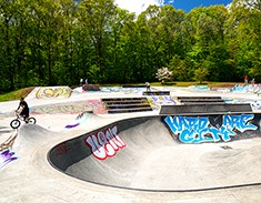 Stanley Quarter Park Skate Park<span>New Britain, CT</span>